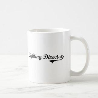 Directeur Professional Job d'éclairage Tasses À Café