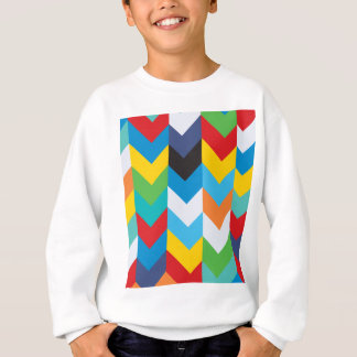 Direction Colorful Design Sweatshirt