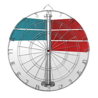 Direction signs dartboard