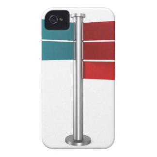 Direction signs iPhone 4 case