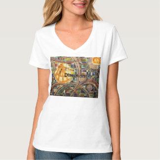 Direction V neck T-Shirt