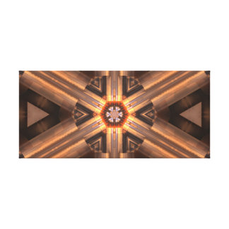 Directional Pattern Canvas Print