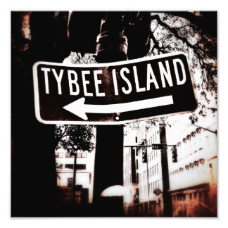 Directions to Tybee Photo Print