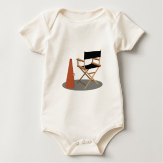 Director Chair Baby Bodysuit