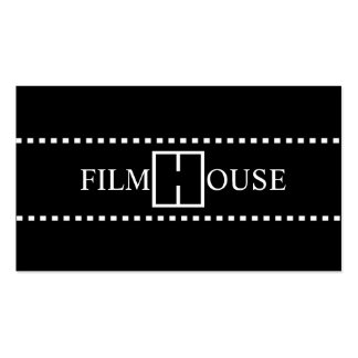 Director Clapperboard Film Movies Producer Act Business Cards
