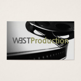Director Clapperboard Film Movies Producer Act Business Card