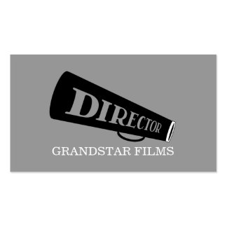 Director Clapperboard Film Movies Producer Business Cards
