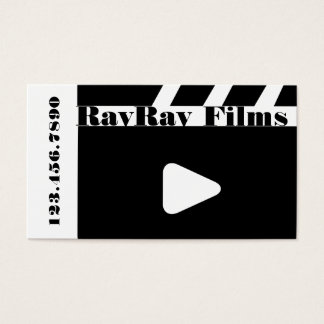 Director Film Movies Producer Production Business Business Card