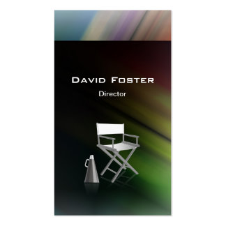 Director in film television theatrical production business card