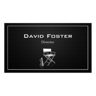 Director in film television theatrical production pack of standard business cards