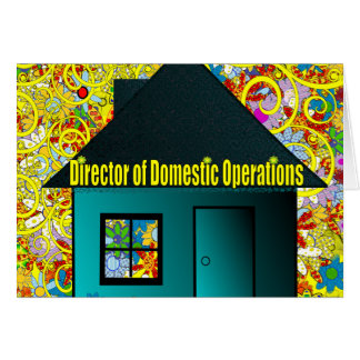 Director of Domestic Operations Card