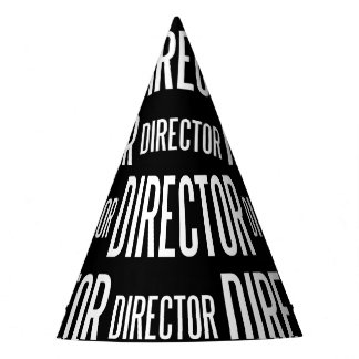 Director party hat