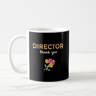 Director, Thanks in Marquee Letters Coffee Mug