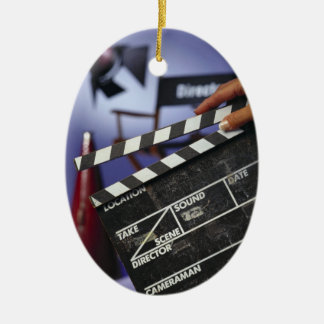 Director's Slate Ceramic Ornament