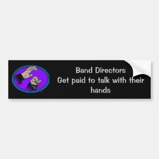 Directors:Talk With their hands Bumper Sticker