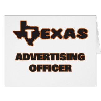 Dirigeant de la publicité du Texas Carte De Vœux Grand Format
