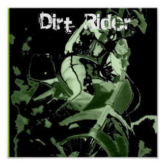Dirt Bike 1, Dirt  Rider Poster