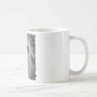 Dirt Bike Blasting Thru Black/White Coffee Mug