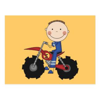 Dirt Bike - Boy Tshirts and Gifts Postcard