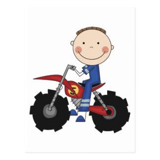 Dirt Bike - Boy Tshirts and Gifts Post Card