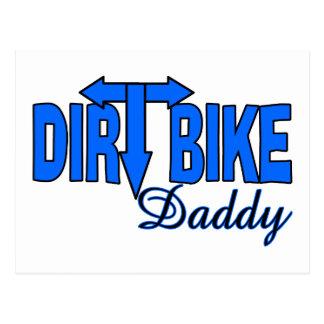 Dirt Bike Daddy Postcard