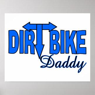 Dirt Bike Daddy Poster