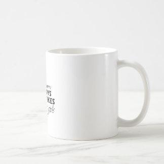 dirt bike girl coffee mug