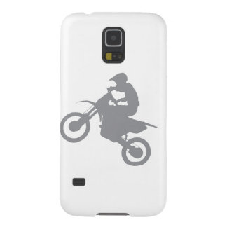 DIRT BIKE (grey) Cases For Galaxy S5