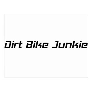 Dirt Bike Junkie Post Cards