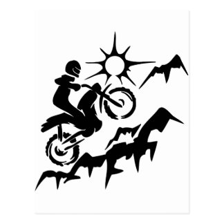 Dirt Bike Mountain Postcards