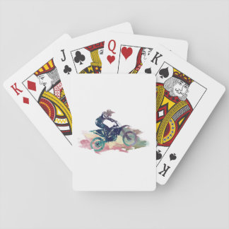Dirt Bike Playing Cards