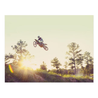 Dirt Bike Postcard