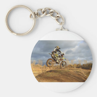 Dirt Bike Ride Keychain