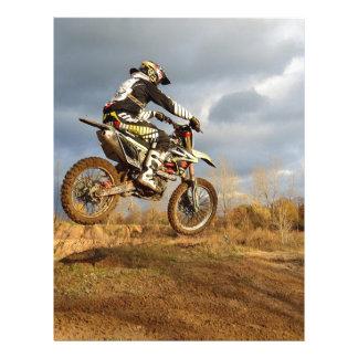 Dirt Bike Ride Letterhead