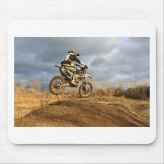 Dirt Bike Ride Mouse Pad