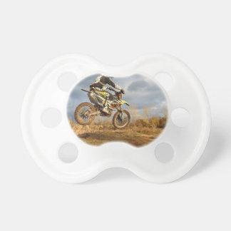 Dirt Bike Ride Pacifier