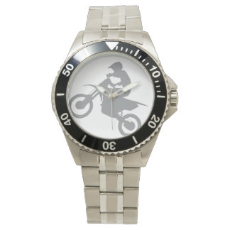 DIRT BIKE WATCH (grey)
