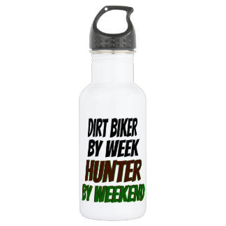 Dirt Biker Hunter 532 Ml Water Bottle