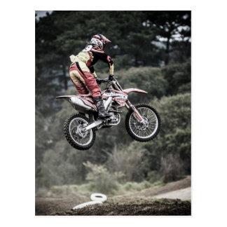 Dirt Biker Postcard