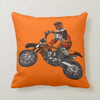 Dirt bikes pillow