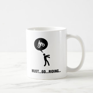 Dirt Biking Classic White Coffee Mug