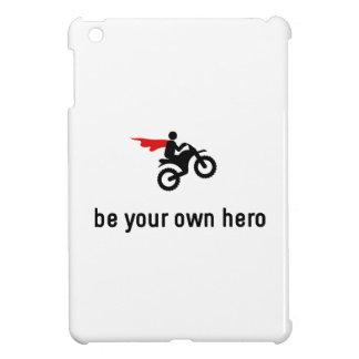 Dirt Biking Hero iPad Mini Cases