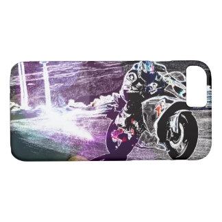 dirt biking motocross racing Motorcycle biker Case-Mate iPhone Case