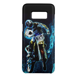 dirt biking motocross racing Motorcycle biker Case-Mate Samsung Galaxy S8 Case