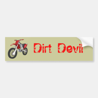 Dirt Devil Bumper Sticker