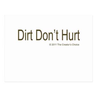 Dirt Don't Hurt #2 Postcard