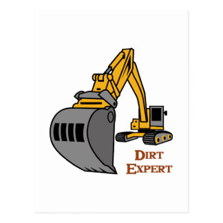 Dirt Expert Postcard