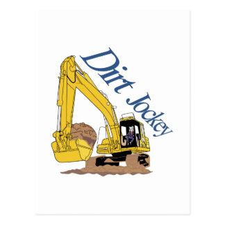 Dirt Jockey Postcard