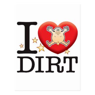 Dirt Love Man Postcard