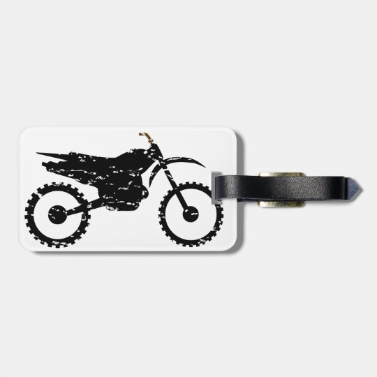 Dirt LOVER FLAIR Luggage Tag